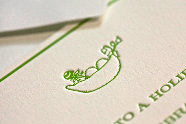 Sweet Pea Shower Invitation