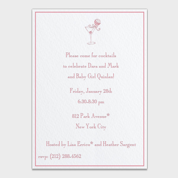 Stir It Up Shower Invitation