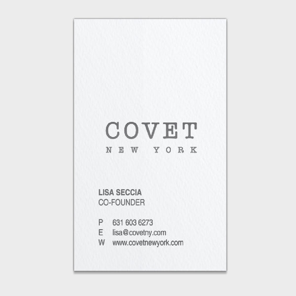 Covet Business Card