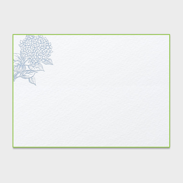 Hydrangea Blue Note Cards