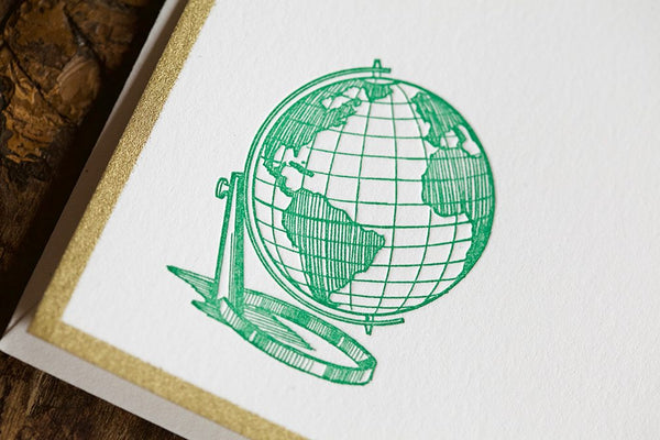 Globe Trotter Note Cards