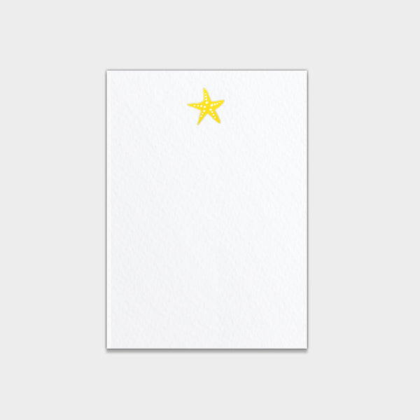 Starfish  Note Cards