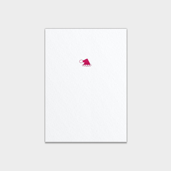 Folded Santa Hat Note Cards