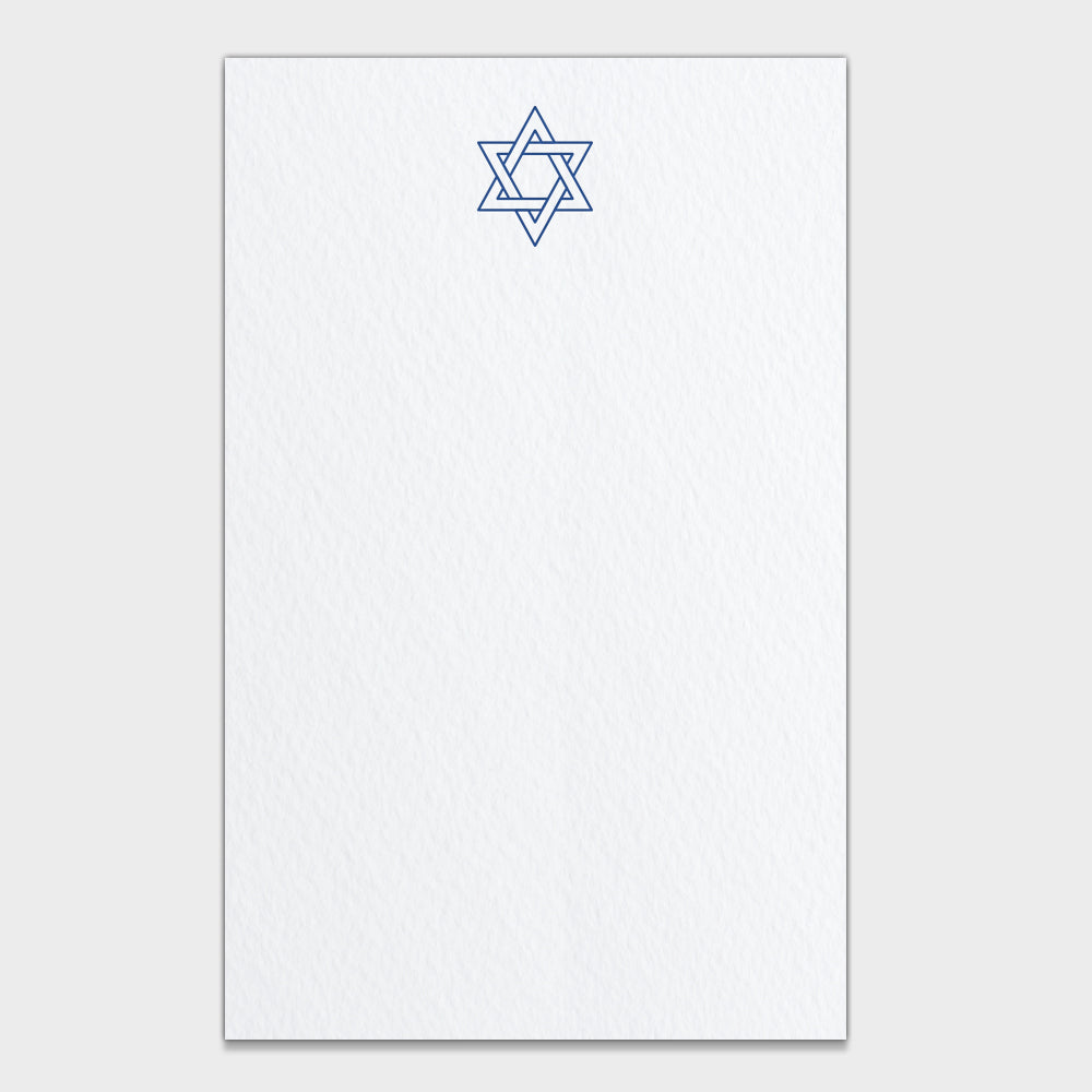 Star of David Note Cards