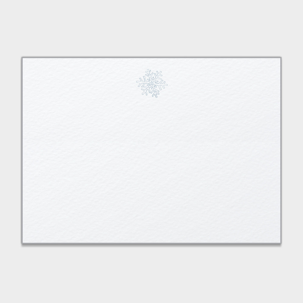 Snowflake Note Cards