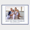 Navy Joy Christmas Card