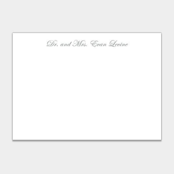 Alex & Evan Stationery