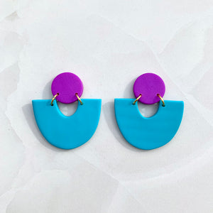 Evora - Turquoise and Purple