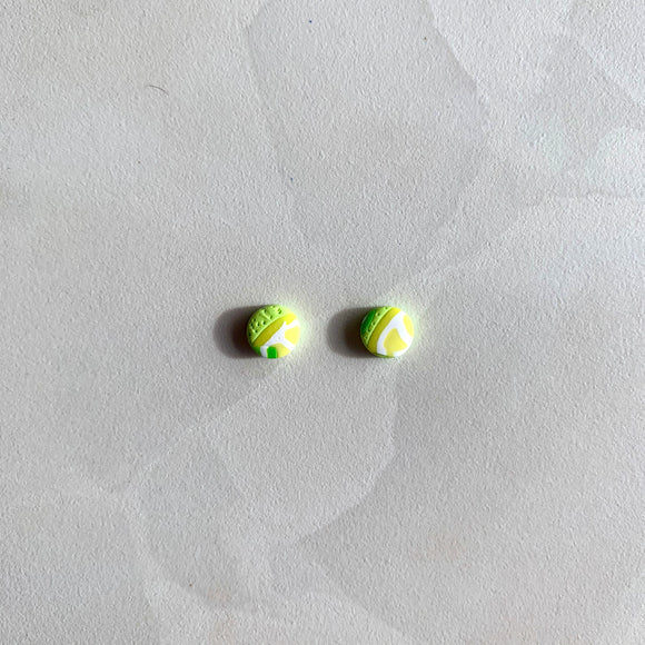 Mini Studs - Lemon and Lime