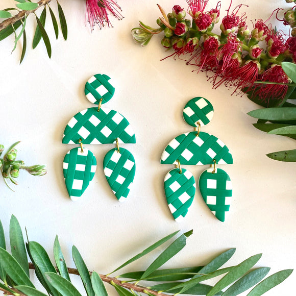 Cyprus - Green Christmas Gingham