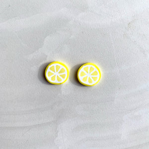 Large Studs - Lemon Slices