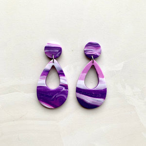 Ornella - Purple Marble