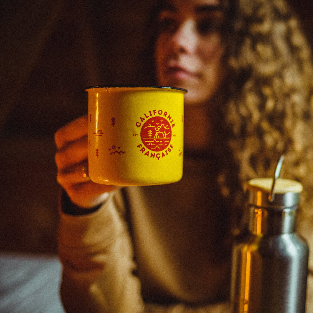 Adventure Mug Yellow