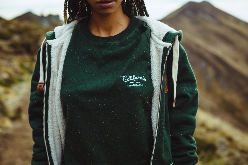 Sweatshirt Crewneck Green