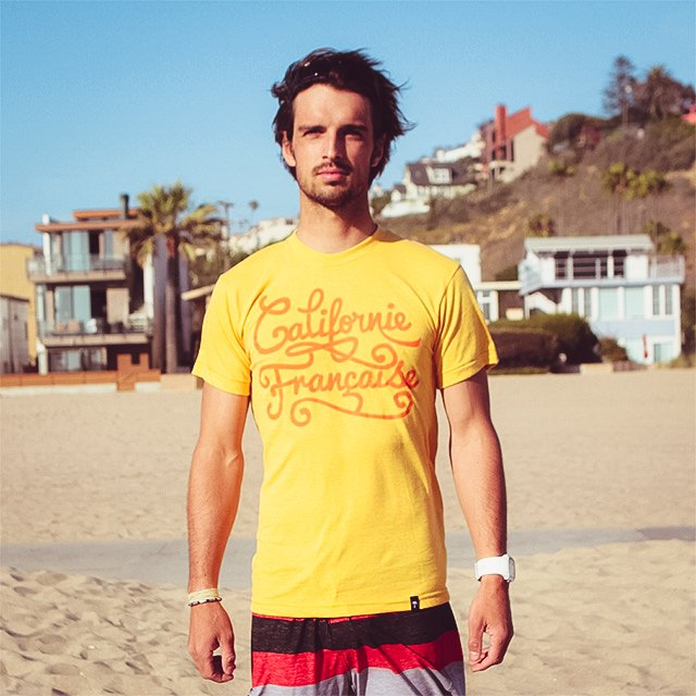 T-shirt – Men – Yellow