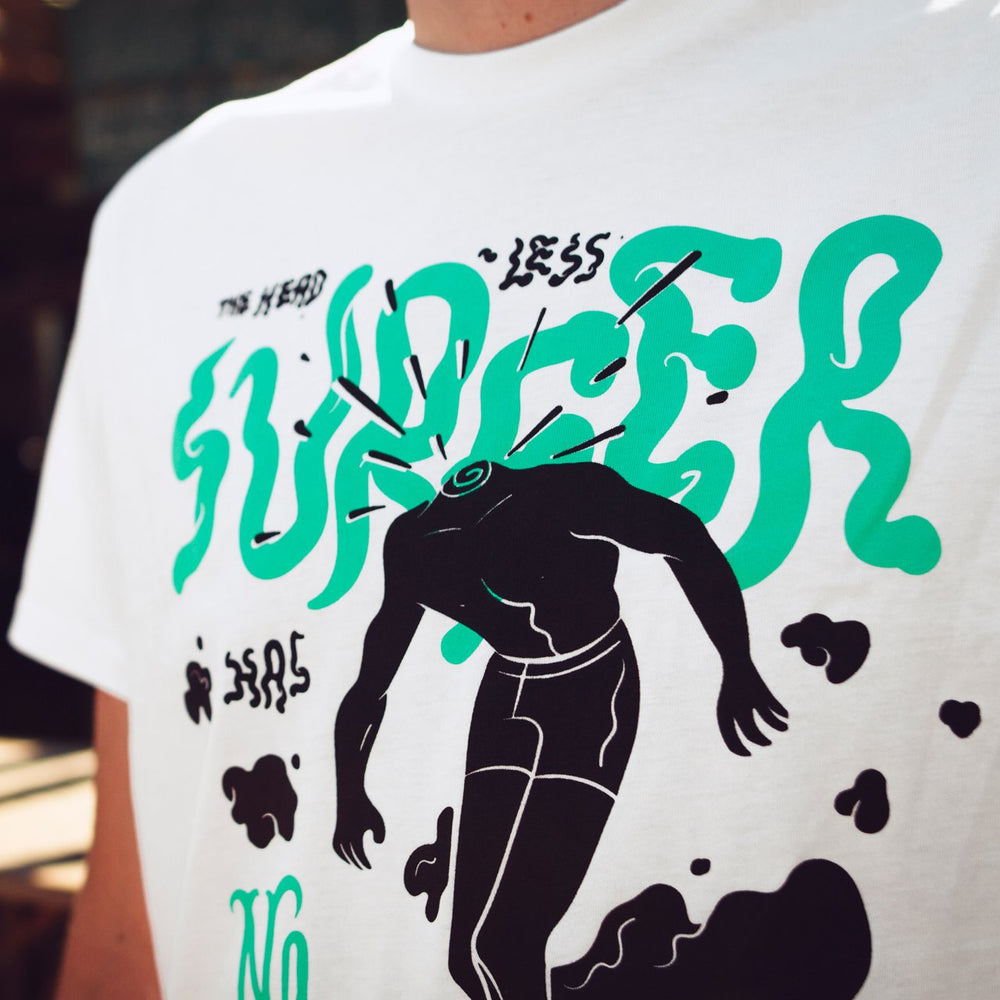 T-shirt Headless Surfer