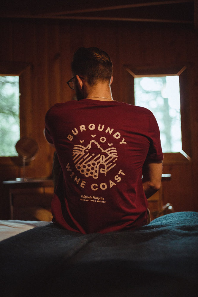T-shirt NPS Burgundy