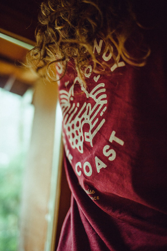 Women T-shirt NPS Burgundy