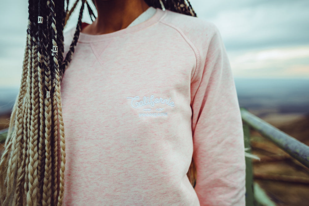 Sweatshirt Crewneck Light Pink – Women