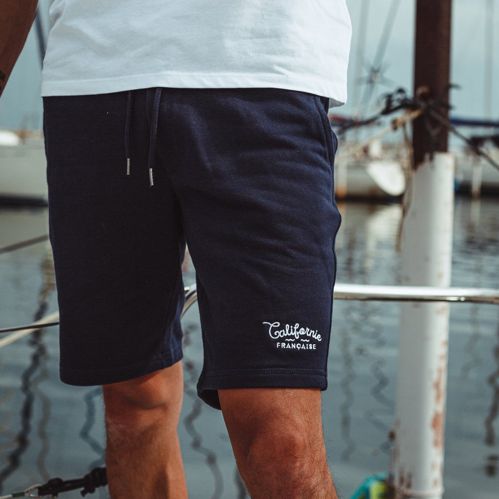 Men Navy Shorts