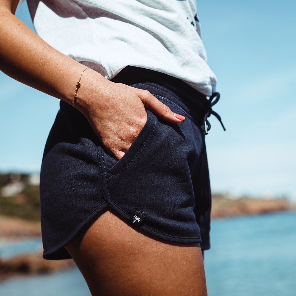 Women Navy Shorts