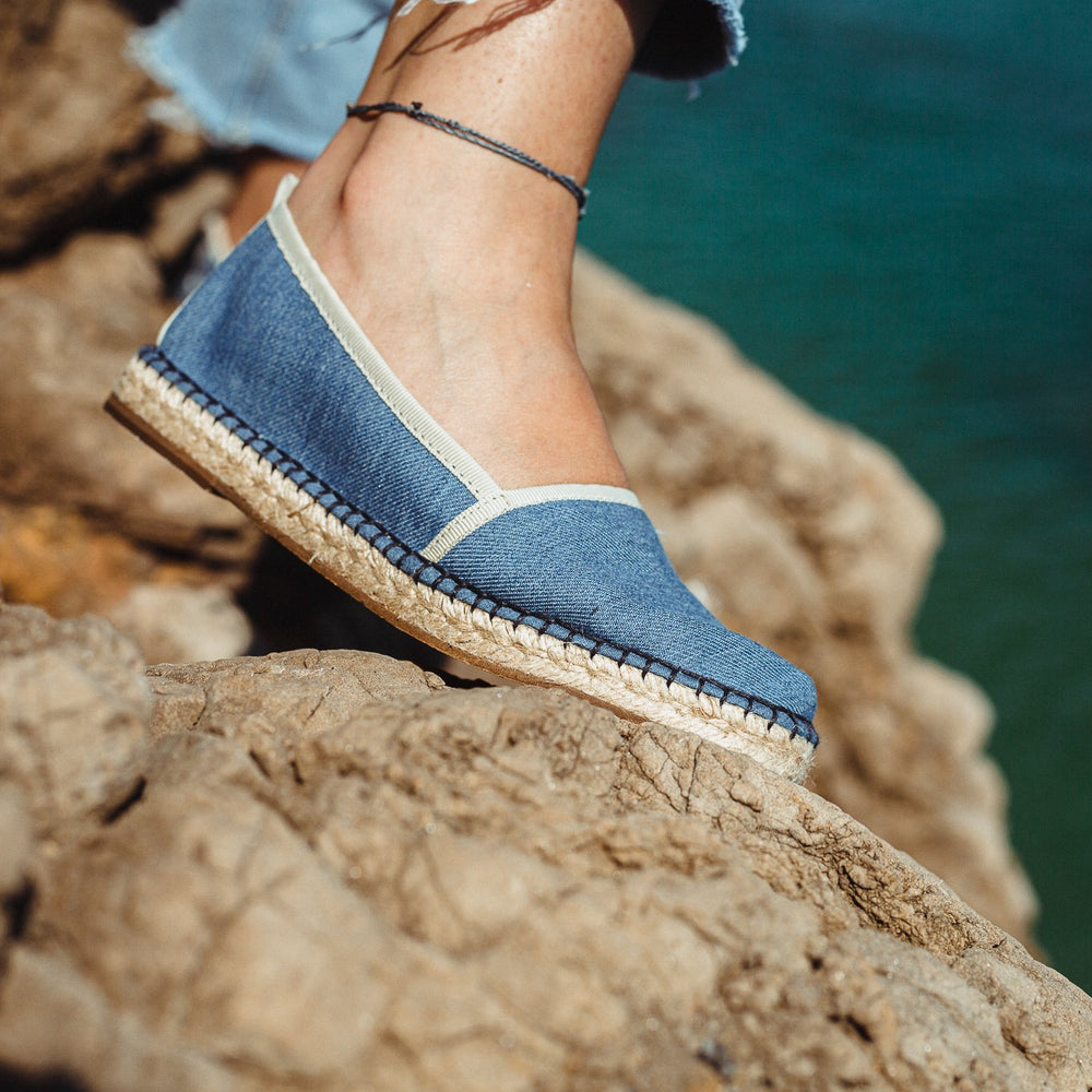 Women Espadrilles Denim