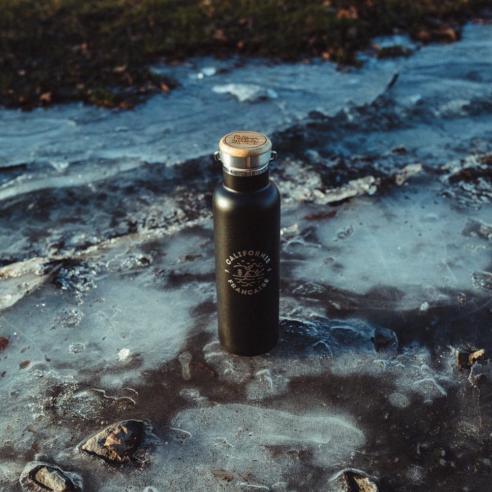 Adventure Water Canteen Black Edition 60