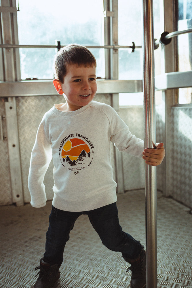 Crewneck Mountain Dawn Kids