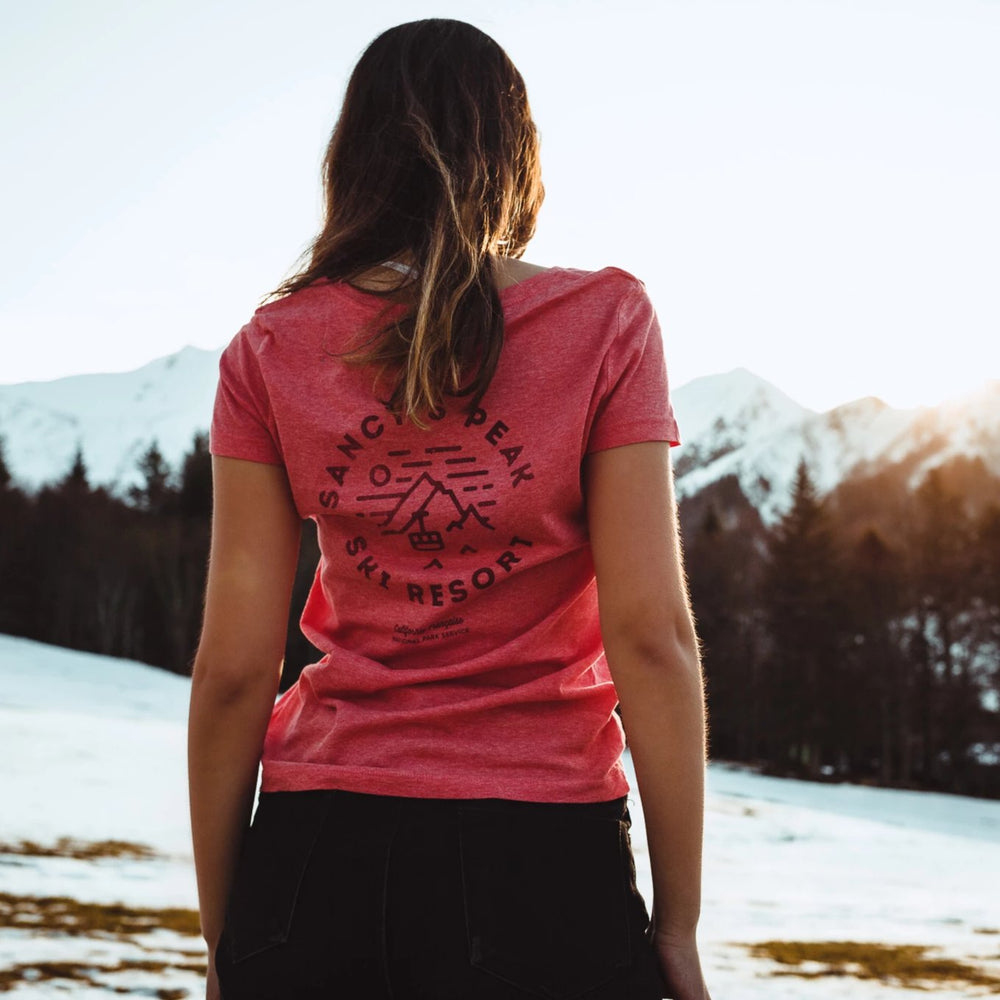 Women T-shirt NPS Sancy