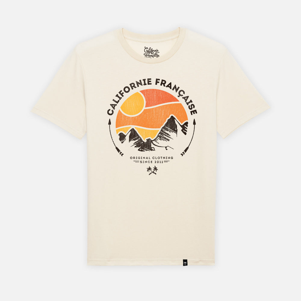 T-shirt Mountain Dawn Raw