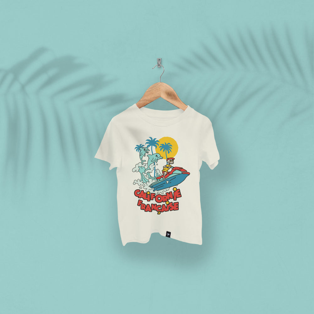 Kids T-shirt Crazy Jet Ski