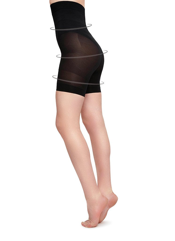 JULIA SHAPING SHORTS BLACK