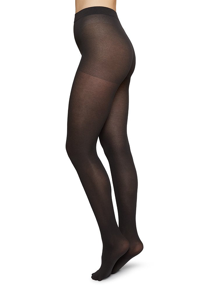 STINA PREMIUM BIO-COTTON TIGHTS CHARCOAL