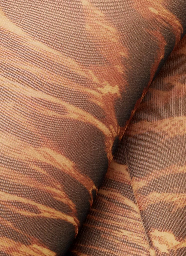 GANNI TIGER'S EYE TIGHTS