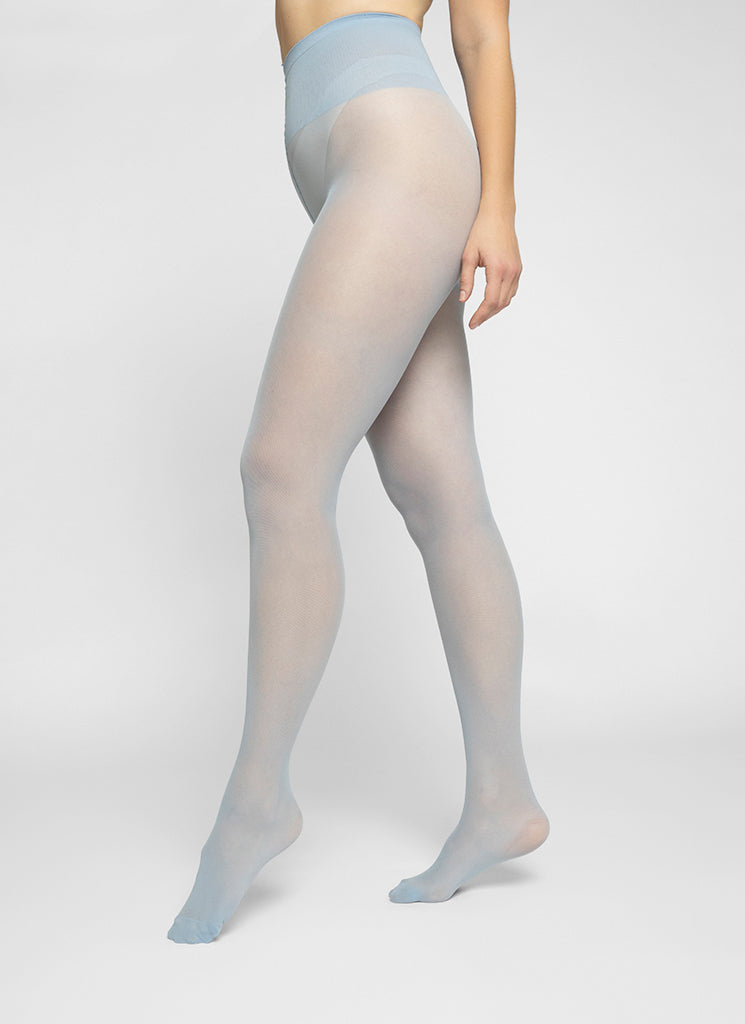 SVEA PREMIUM TIGHTS LIGHT BLUE