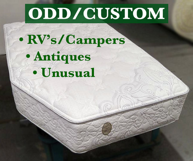 Odd - Custom mattresses for RV, Camper, Antique