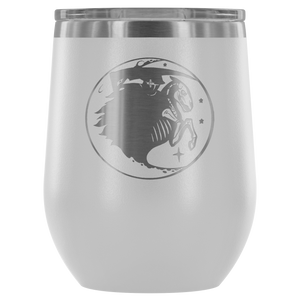 Shadow Etched Wine Tumbler