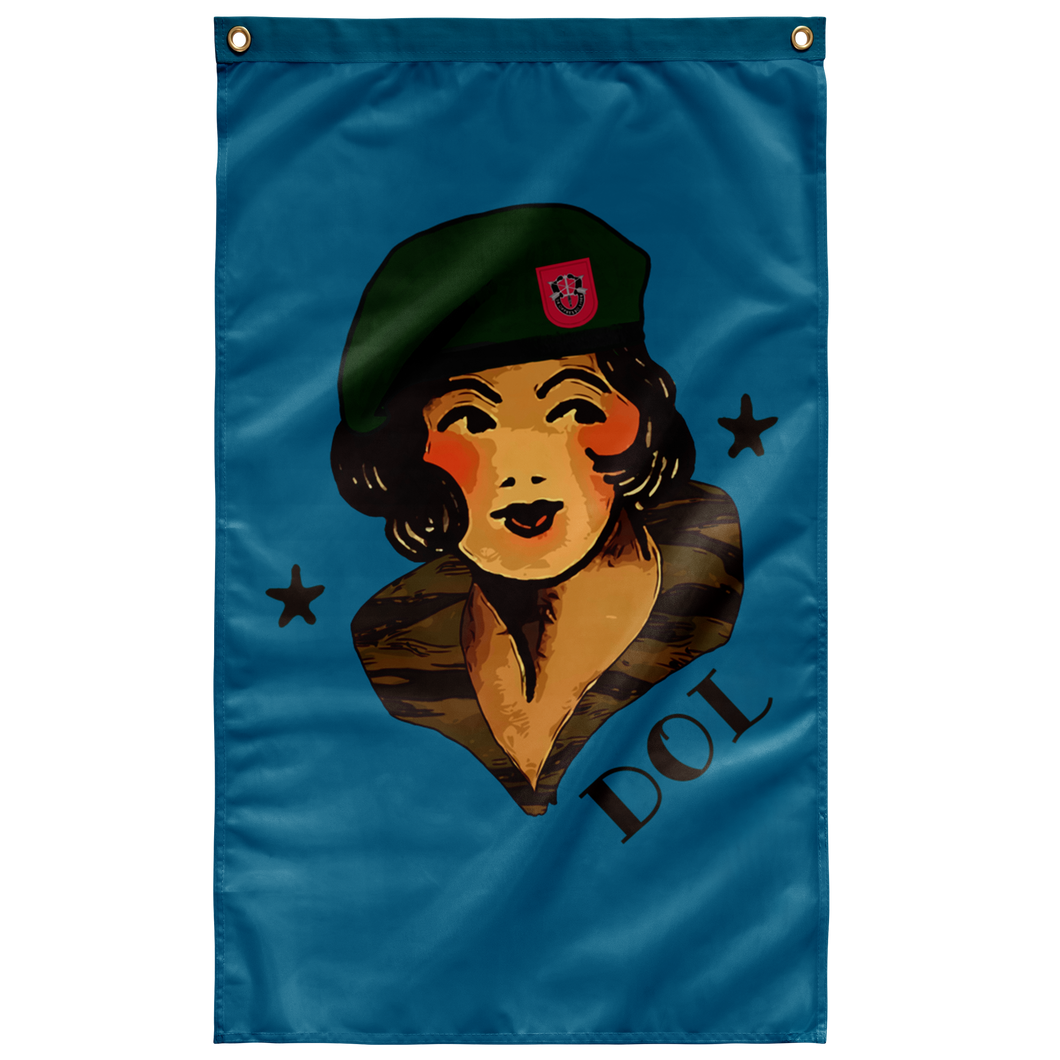 DOL Jerry Girl Flag