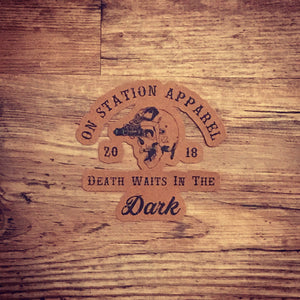 On Station Apparel Sticker