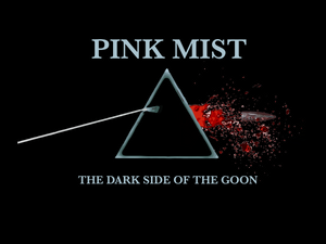 Pink Mist - Dark Side of the Goon Short-Sleeve Unisex T-Shirt
