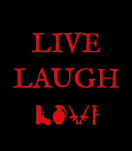 Live, Laugh, Love Short-Sleeve Unisex T-Shirt