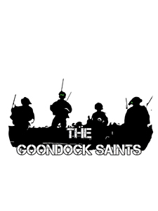 Goondock Saints 3/4 sleeve raglan shirt