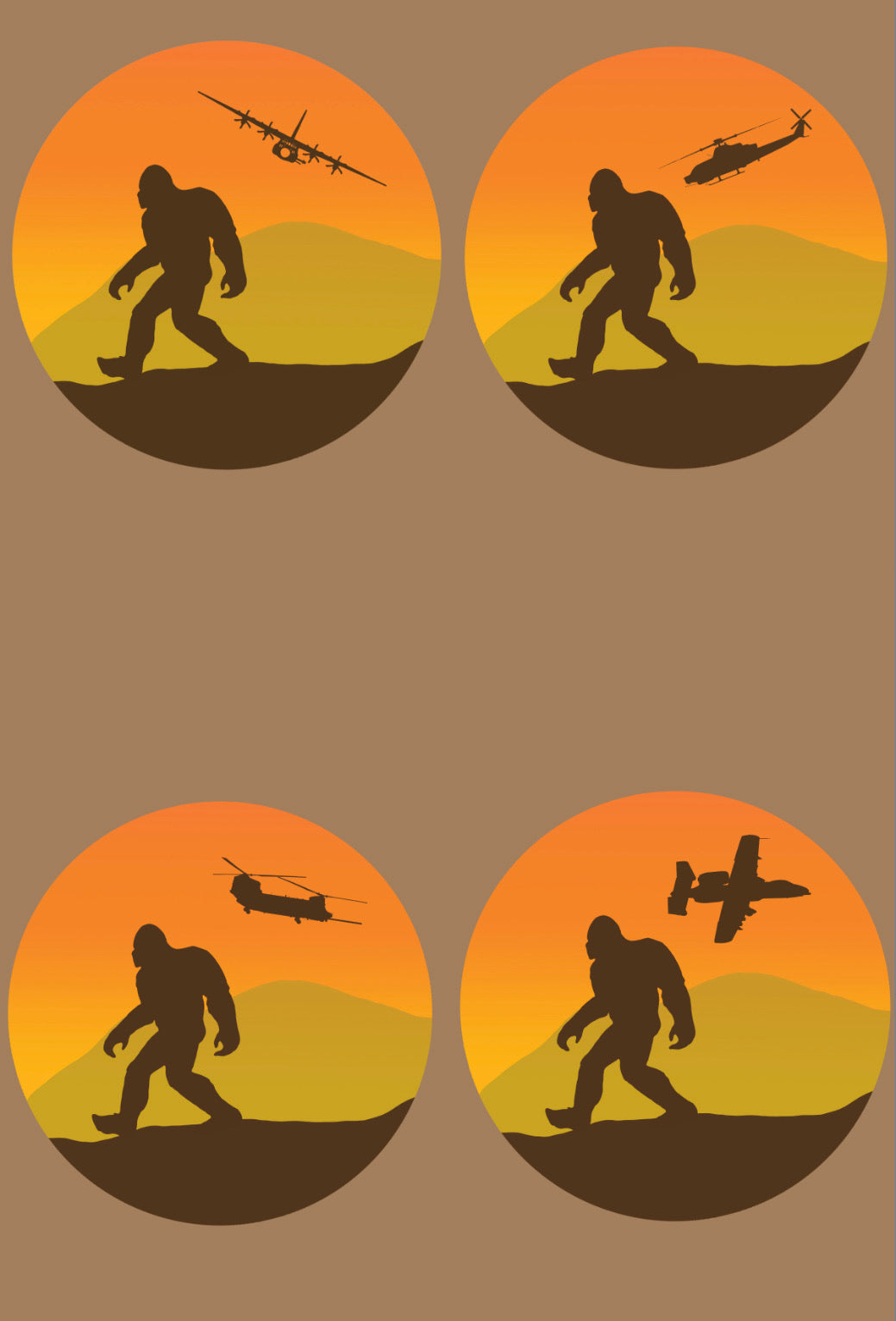 Sasquatch Stickers