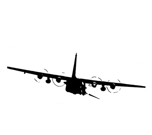 AC-130 Stickers
