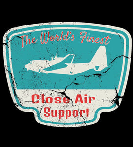 World's Finest Close Air Support Youth Short Sleeve T-Shirt