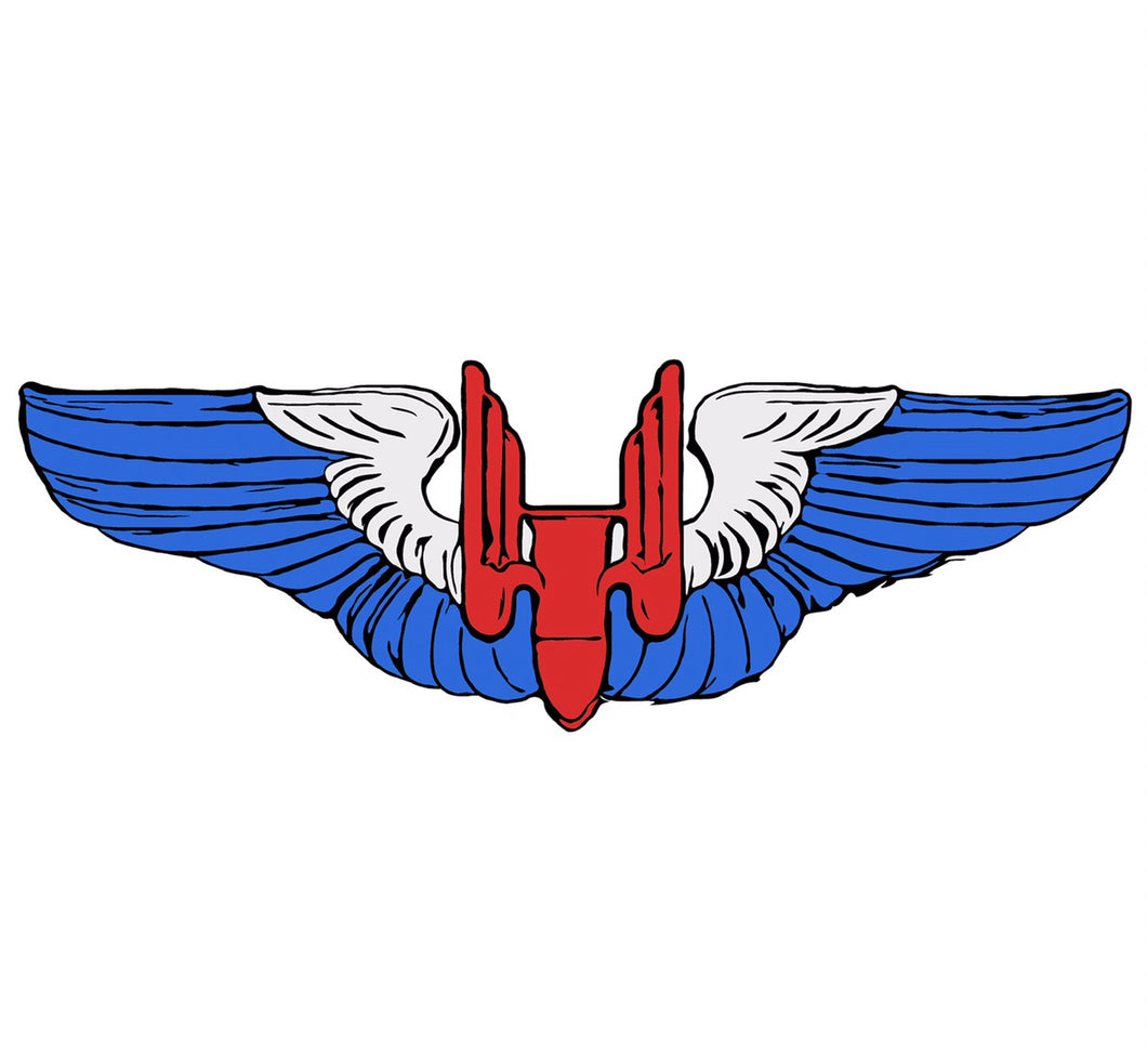 Gunner Wings - Red, White, and Blue