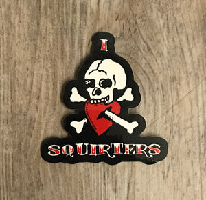 I Love Squirters Stickers