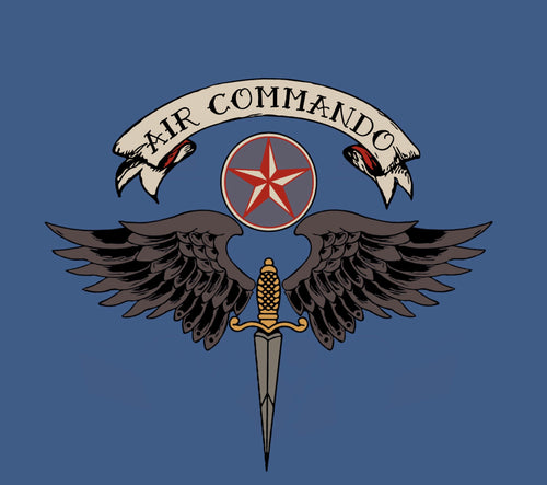 Air Commando Tattoo Short-Sleeve Unisex T-Shirt