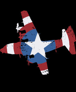 Captain AmeriCAS AC-130 Short-Sleeve Unisex T-Shirt
