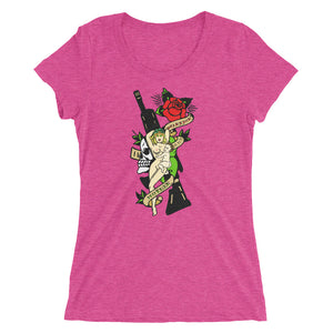 Mother and Warrior M4 Ladies' short sleeve t-shirt